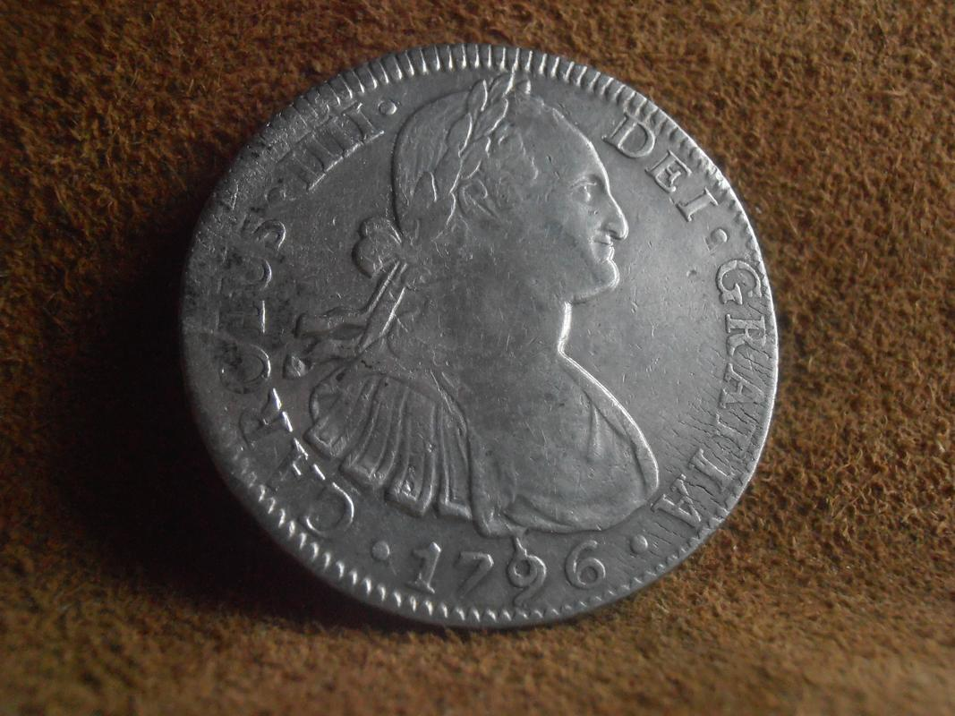 8 reales 1796. Carlos IV. Méjico P6080254