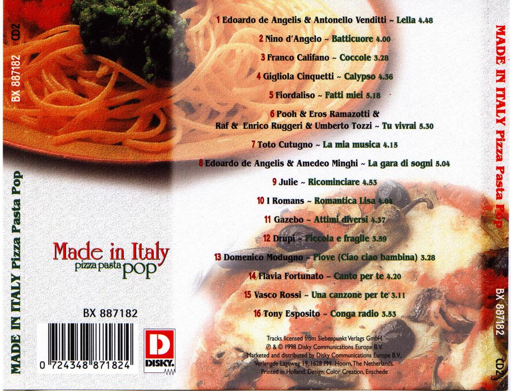 Made In Italy-Pizza Pasta Pop 1,2,3, Foto33