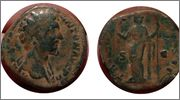 Sestercio de Marco Aurelio. TR POT XI(I) COS - S C. Felicitas. Ceca Roma. Image