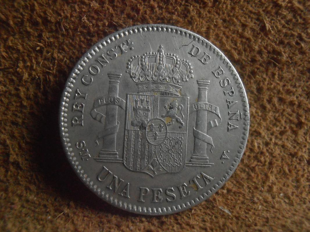 1 Peseta 1900 Alfonso XIII P5270229