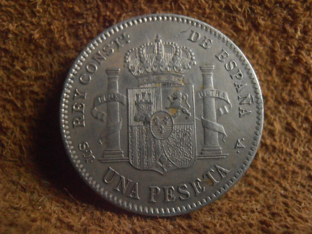 1 Peseta 1900 Alfonso XIII P5270228