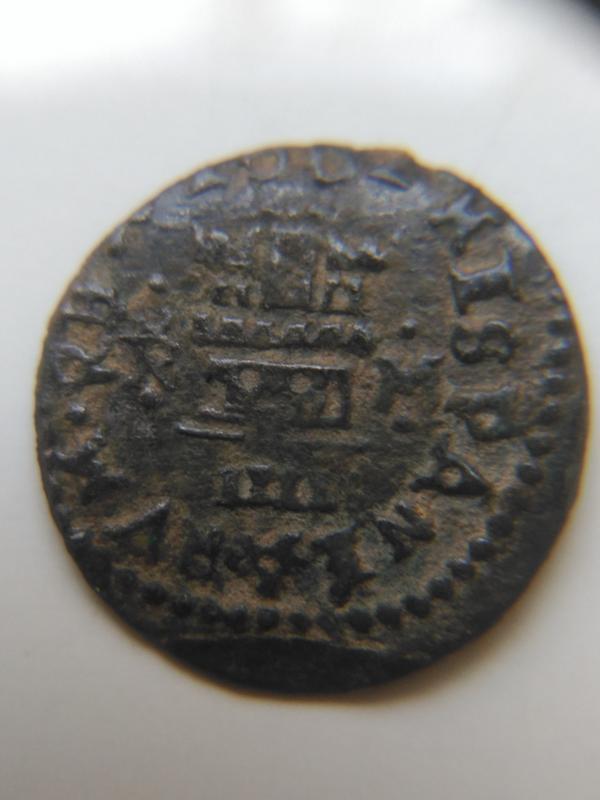 4 maravedís de Felipe IV de Trujillo, 1662. Image