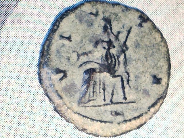 Antoniniano de Salonina.VESTA. Ceca Roma. Image