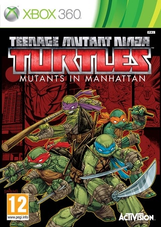 Teenage Mutant Ninja Turtles Mutants in Manhattan (2016) - FULL ITA TEE