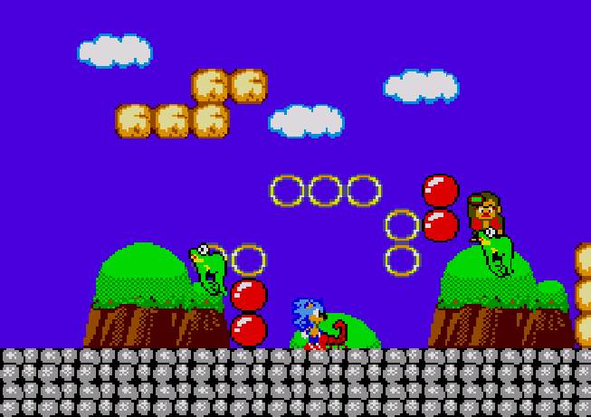 Sonic in Miracle World (AKiMW Hack) Image