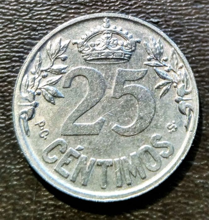 25 céntimos 1925 Alfonso XIII 25_1925_R