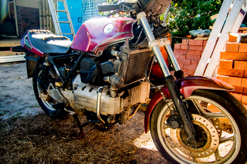 New to bikes & buys an 88 brick thats not running. Bike_0428