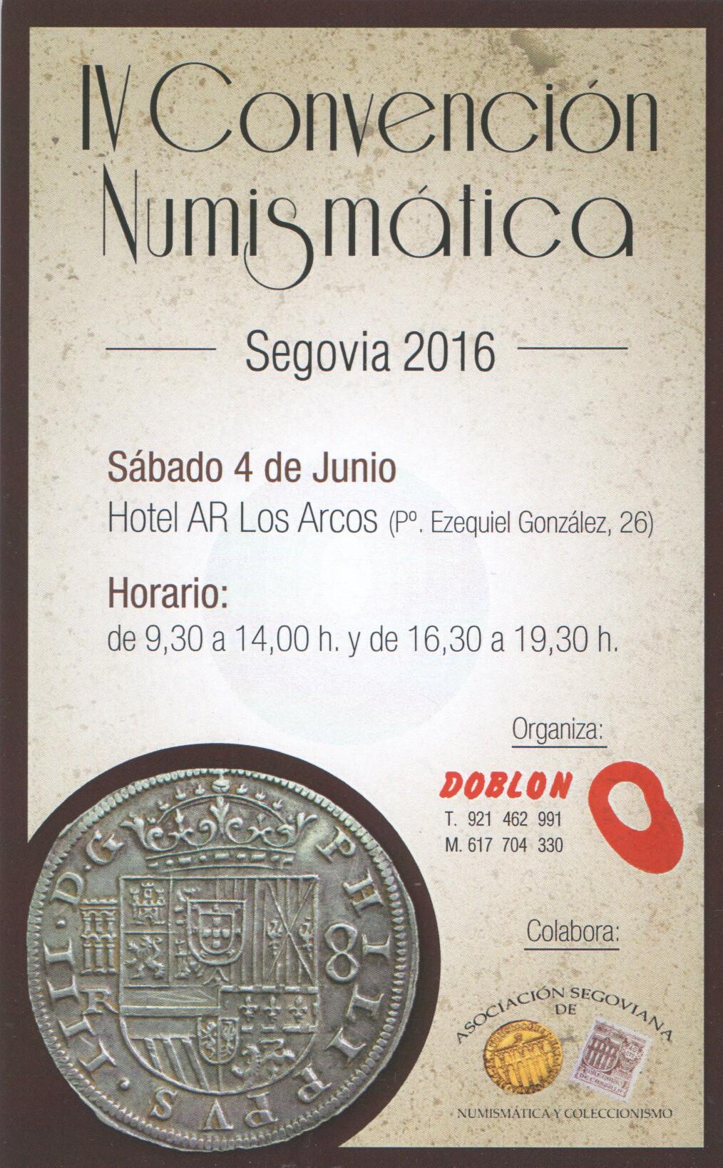 Convención Numismática Segovia , 4 Junio 2016 Scan_160417_0001