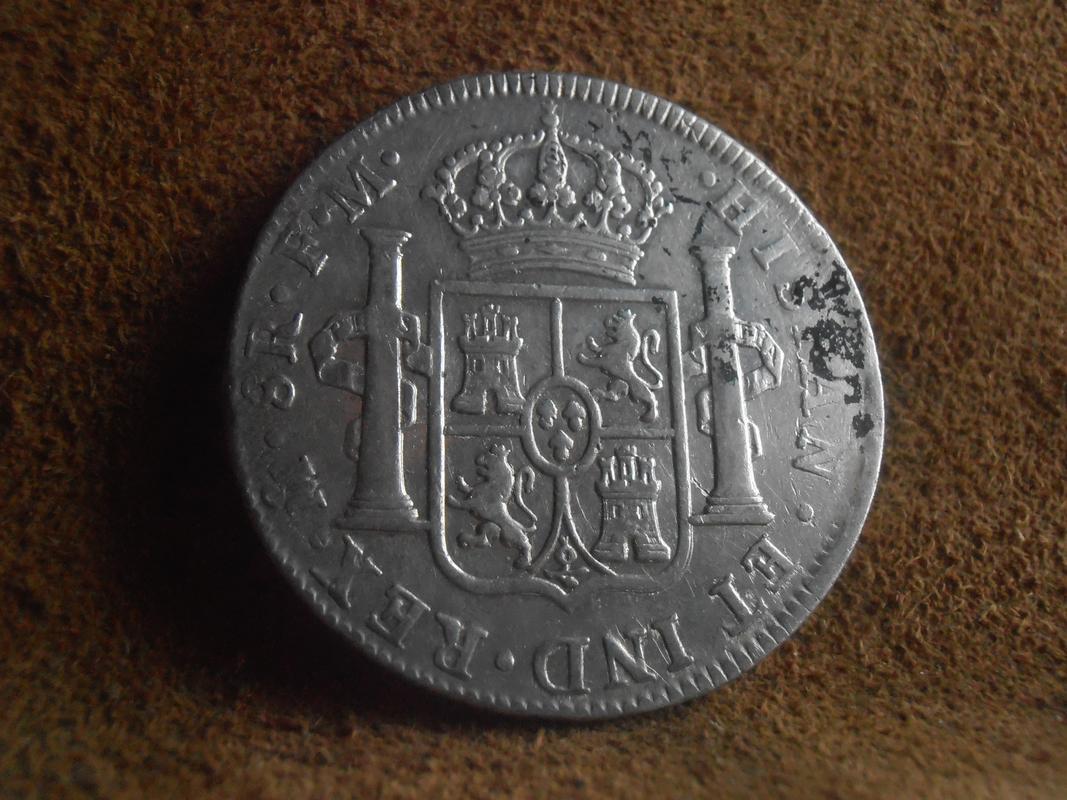 8 reales 1796. Carlos IV. Méjico P6080255