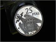 25 pesetas 1957 * 75  Francisco Franco DSCN2207