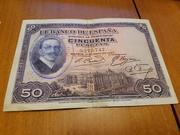 Duda Sobre Billete de 50 pesetas 1927 20180619_204118