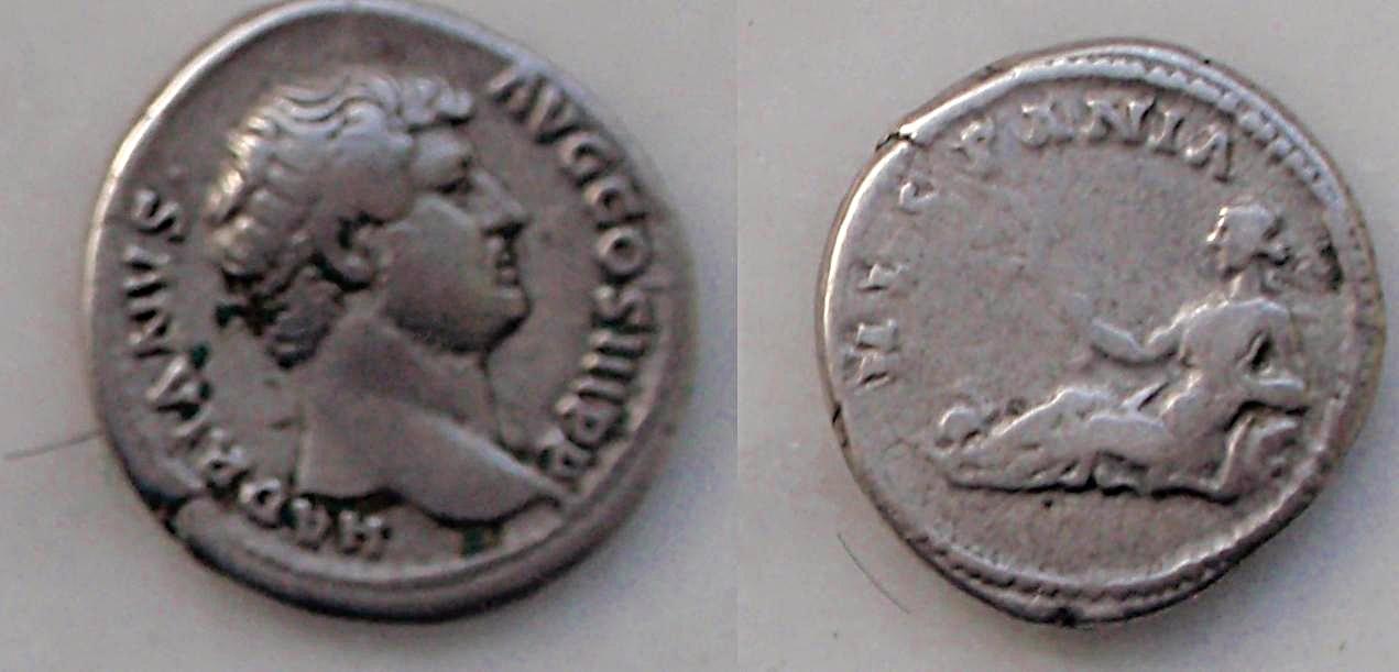 Denario de Adriano. HISPANIA. Roma Den_hispania
