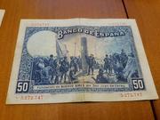Duda Sobre Billete de 50 pesetas 1927 20180619_204124