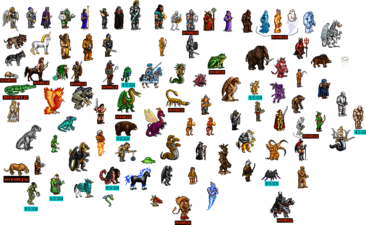 paid sprite work Examples