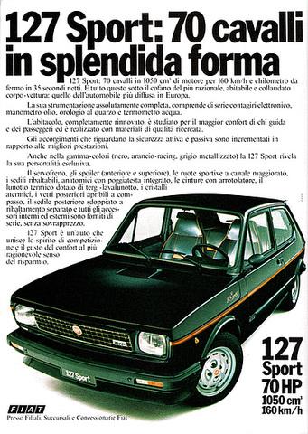 Fiat Brasile 40 anni (1976-2016) 127_Sport