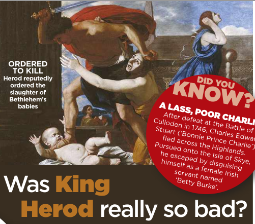 Roi Herode était-il vraiment si mauvais? Image