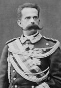 Centésimo 1900. Humberto I, un bigotudo real. Umberto_I_di_Savoia