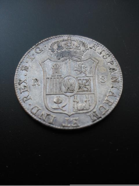 8 reales 1809. Jose Napoleón. Madrid 1_2