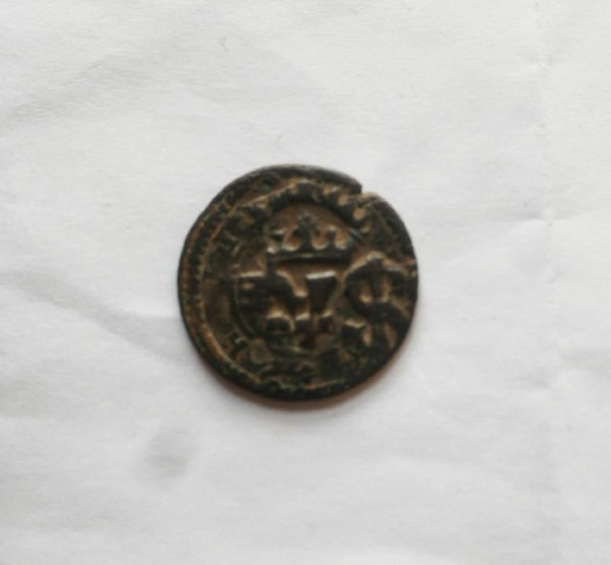 4 maravedís de Felipe III de Segovia, 1608, resellados. IMG_20180624_141313