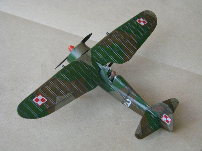 PZL P.11c Ferić, Azur, 1/72 i ZTS P.11c what ih,1/72 DSC01947