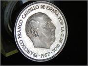 25 pesetas 1957 * 75  Francisco Franco RSCN2202