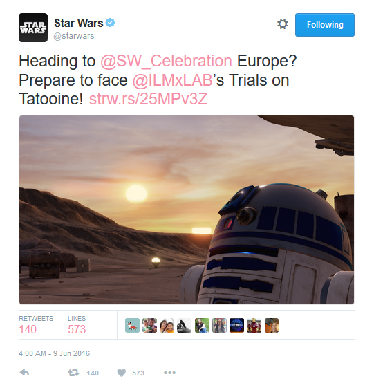[ARCHIVE] SW Sequel Trilogy Tweets  - Page 3 Sw_celeb_2016