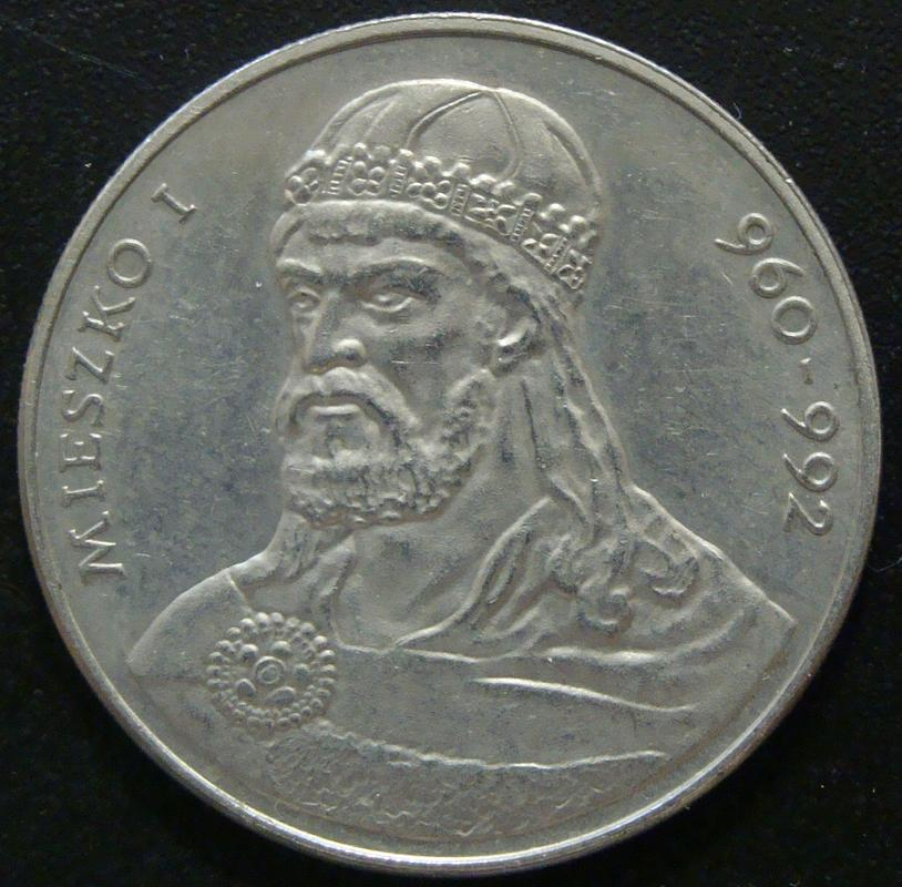 50 Zloty. Polonia (1979) Mieszko I POL._50_Zloty_1979_Mieszko_I_-_rev