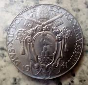 2 Liras. Ciudad del Vaticano (1941) Moneda bonita en plena guerra IMG_20180709_183717_624