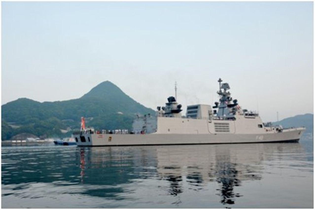 Ejercicio naval Malabar 2015,2017 y siguientes - Participacion  de India - Japon - Estados Unidos - Australia MALABAR_INSSATPURA