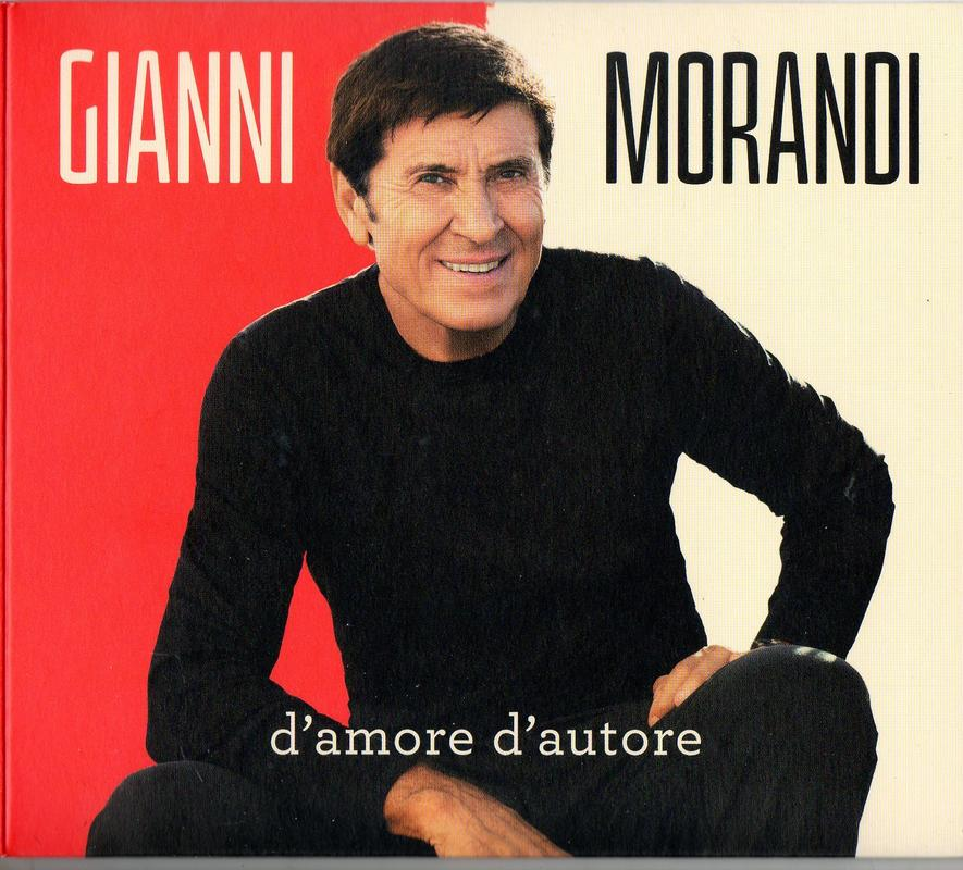 Gianni Morandi – D'amore d'autore (2017) [MP3] Front