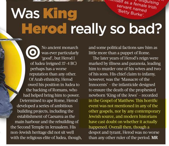 Roi Herode était-il vraiment si mauvais? Grgrtg