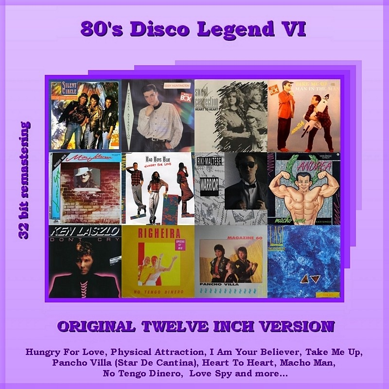 "VA-80""s Disco Legend Collection 1-11 Vol.VI_Front"
