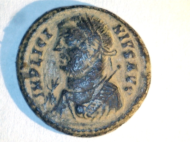Follis de Licinio I. PROVIDEN_TIAE AVGG. Ceca Heraclea. Image