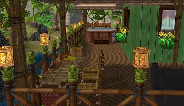 Domek na okraji džungle - Stránka 2 Terasa