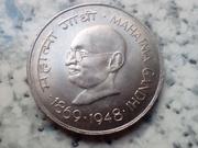 1 rupia 1969 (B) Mahatma Gandhi IMG_20180714_150747