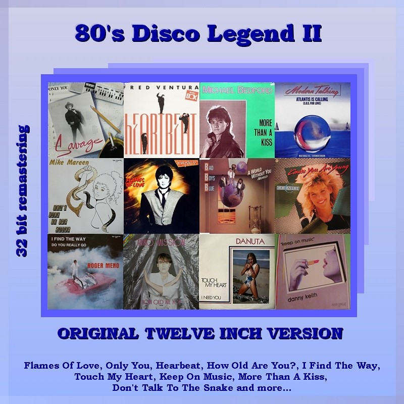 "VA-80""s Disco Legend Collection 1-11 Vol.II_Front"
