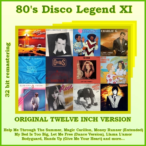 "VA-80""s Disco Legend Collection 1-11 Vol.XI_Front"