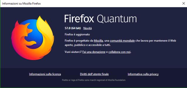 Firefox Quantum è arrivato Image