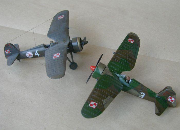 PZL P.11c Ferić, Azur, 1/72 i ZTS P.11c what ih,1/72 DSC01945