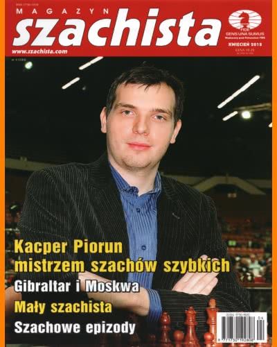 CHESS PERIODICALS :: Magazyn SZACHISTA (Polish Chess Monthly Magazine) Ms_2018-04
