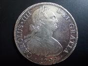 8 Reales 1.799 .Carlos IV. Méjico DSCN1917
