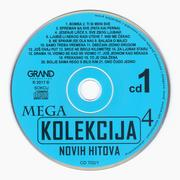 Grand Mega Kolekcija Novih hitova - Kolekcija Cd_1