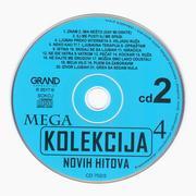 Grand Mega Kolekcija Novih hitova - Kolekcija Cd_2