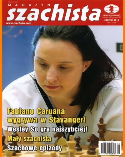 CHESS PERIODICALS :: Magazyn SZACHISTA (Polish Chess Monthly Magazine) Ms_2018-08