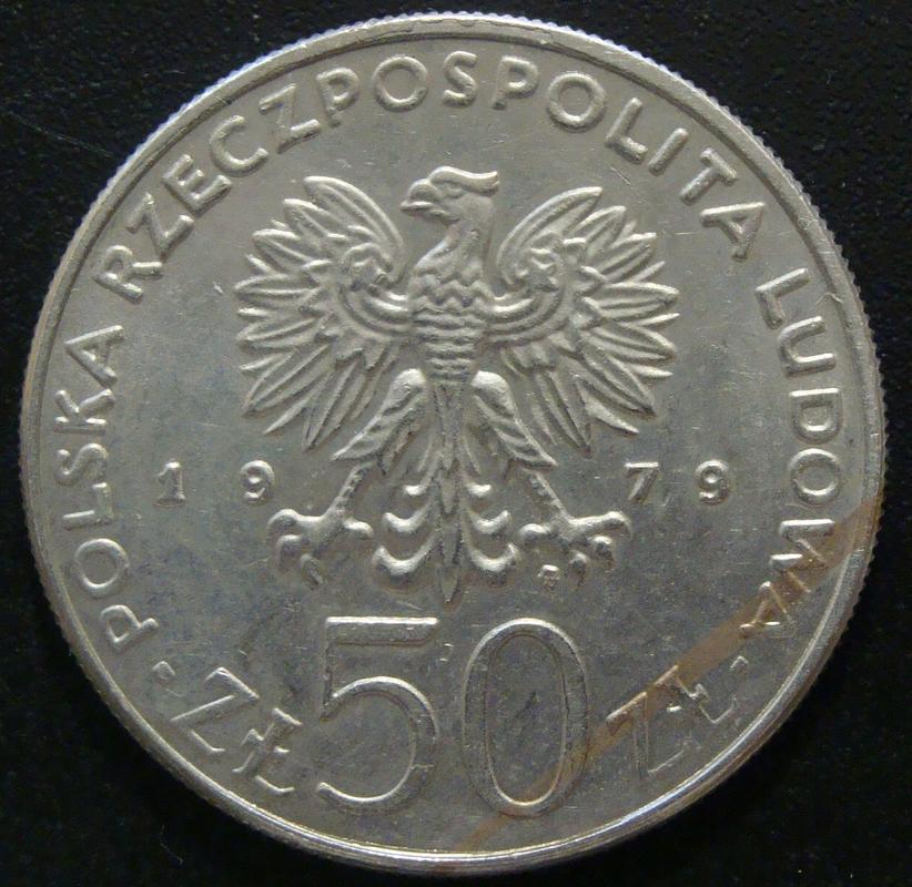 50 Zloty. Polonia (1979) Mieszko I POL._50_Zloty_1979_Mieszko_I_-_anv