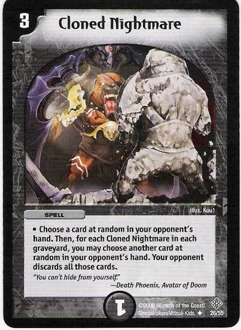 Nerfed(Modified) Cards! Cloned_Nightmare