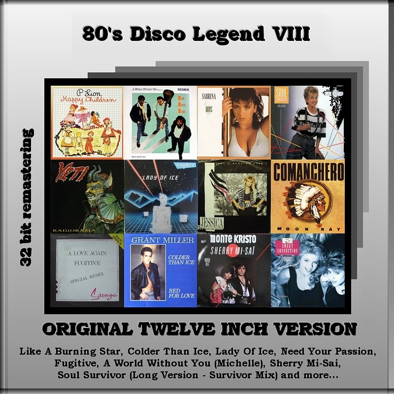 "VA-80""s Disco Legend Collection 1-11 Vol.VIII_Front"