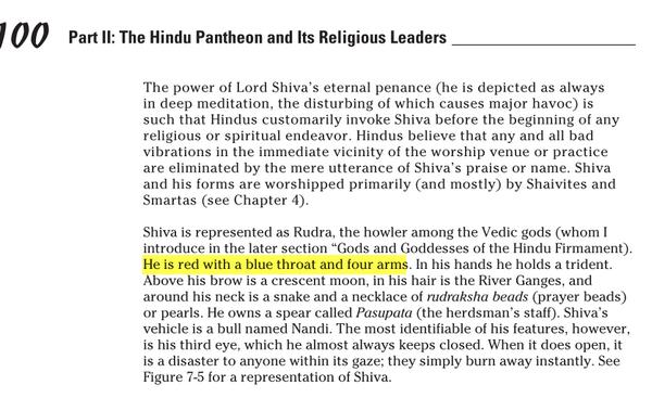 Pourquoi Shiva est Bleu ? Image