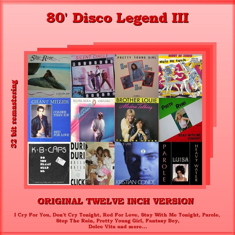 "VA-80""s Disco Legend Collection 1-11 Vol.III_Front"