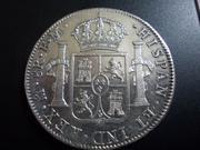 8 Reales 1.799 .Carlos IV. Méjico DSCN1935